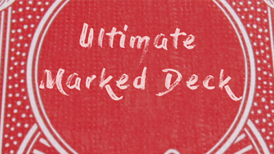 Ultimate Marked Deck (RED Back Bicycle Cards) Deck from Murphy's Magic