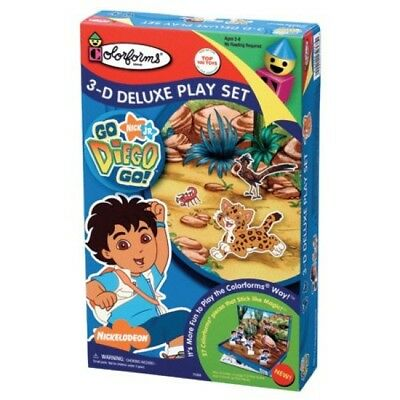 Go, Diego, Go! 3-D Deluxe Play Set by Colorforms (P4h)