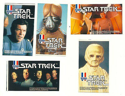1979 Aussie Star Trek The Motion Picture Pauls Ice Cream Stickers Mint Unused 2