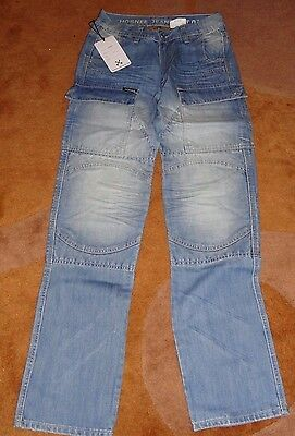 Hornee Jeans Blue Ice SA-M12 Motorcycle Jeans Size 34