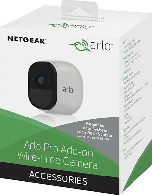 Netgear VMC4030 Arlo Pro Add-on Camera Wire-Free HD Home Security
