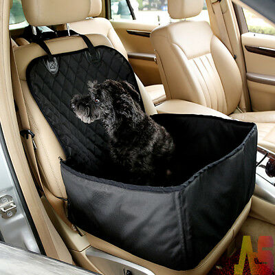 New Folding Pet Dog Cat Car Booster Seat Cover Travel Carrier Safety Basket Cage