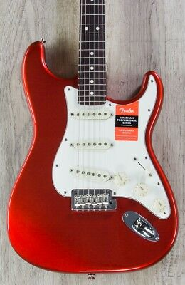 Fender American Professional Stratocaster Guitar, Candy Apple Red, Rosewood