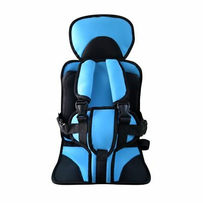 Newstars Child Baby Car Seat Safety Strap Cushion Portable Practical Red/Blue