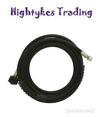 HIGH PRESSURE WASHER WATER HOSE JET WASH HOSE 8mtr 633762 M22 thread - 14mm