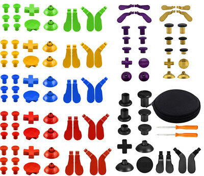 16x Gamepad Joystick Buttons Repair Fixing Parts For Xbox One Elite Controller