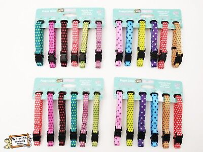 Hem & Boo Puppy ID Soft Collars Whelping pack identification 15-25cm or 20-30cm