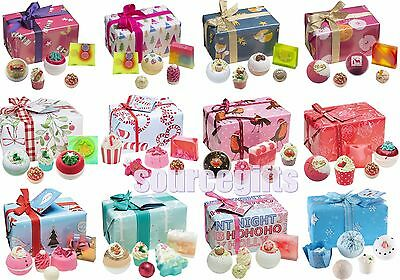 New * Bomb Cosmetics * Christmas Xmas Bath Pamper Gift Sets Pre Wrapped