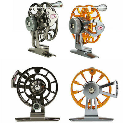 Fly Fishing Former Ice Fishing Wheel Reel Spool Tackle Tool Metal 120m LIne 4