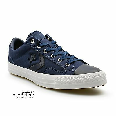 Converse Star Player Canvas Ox Midnight Navy Canvas Unisex Trainers. New