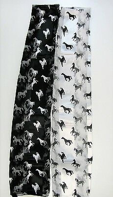 US SELLER Wholesale Scarf Lot 6 Bulk Scarves Shawl Wrap Women Horse Pony $3 ea