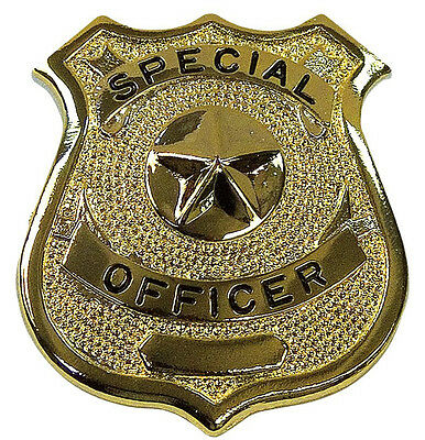 Gold Special Officer Shield Badge Rothco 1906