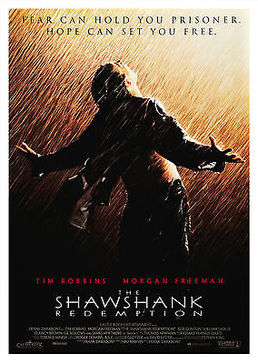 The Shawshank Redemption (1994) V2 - A2 POSTER **LATEST BUY 1 GET 1 FREE OFFER**