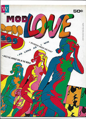 Mod Love #24  [1967 Fn-]  Very Rare Whitman Psychedelic Comic!