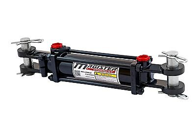 """Hydraulic Cylinder Tie Rod Double Action 2"""" Bore 12"""" Stroke 2500 PSI 2x12 NEW"""