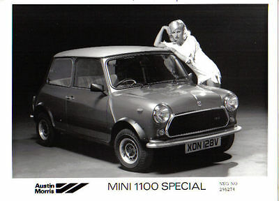 Mini 1100 Special original b&w Press Photograph No. 296274