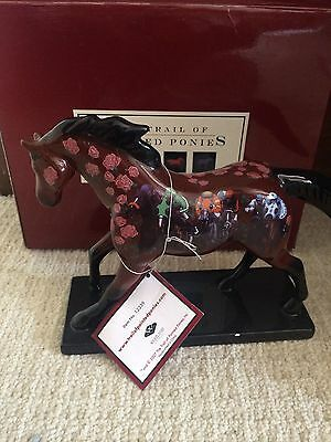 """Trail Of Painted Ponies """"Run For The Roses"""" Special Edition with box and tag"""