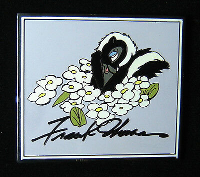 Flower from Bambi Frank Thomas Disney Auctions Pin LE 100