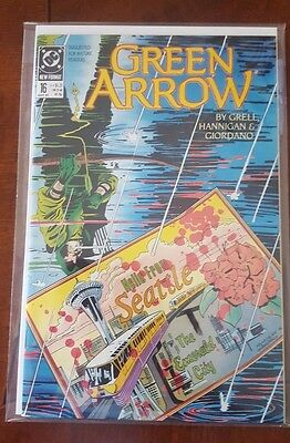 Green Arrow #16 (1989) DC Comics