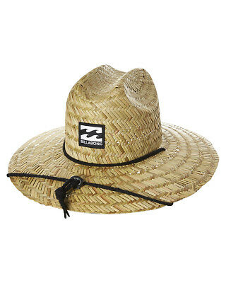 New Billabong Boys Kids Boys Bazza Straw Hat Natural