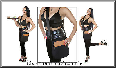 Quality Black Single Pocket Tablet Holster Pouch with Sling (made in USA)