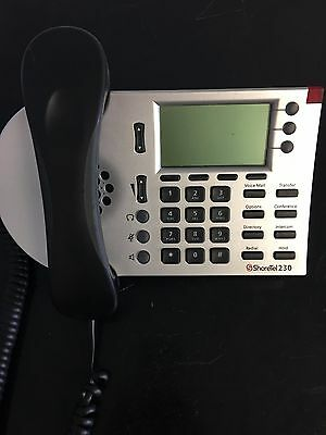 ShoreTel IP230 Silver LCD Display VOIP Phone