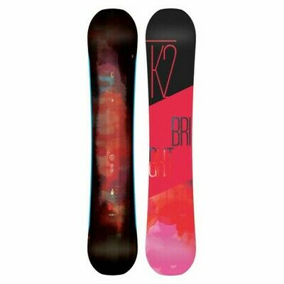 K2 Womens Snowboard - Bright Lite -All-Mountain, Directional Twin, Rocker -2017