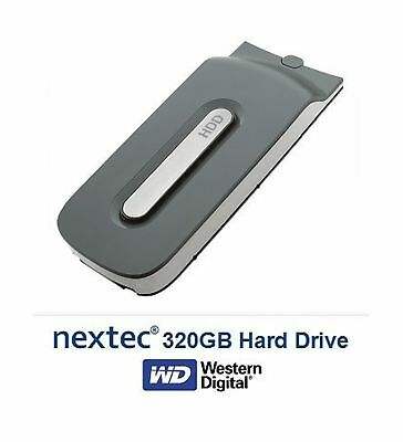 New - Xbox 360 (320 GB) Hard Disk Drive HDD for Microsoft Xbox 360 Console