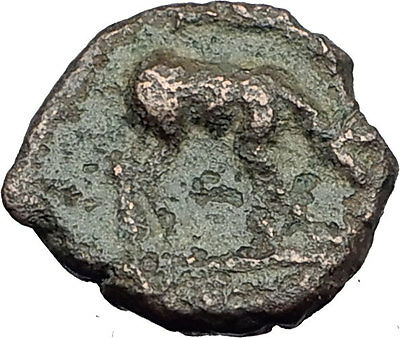 EPHESOS in IONIA 280BC Authentic Ancient Greek Coin BEE Stag & Quiver i63175