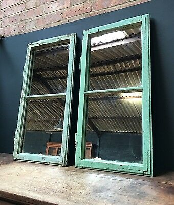 Vintage Antique Hungarian Original Painted Mirror