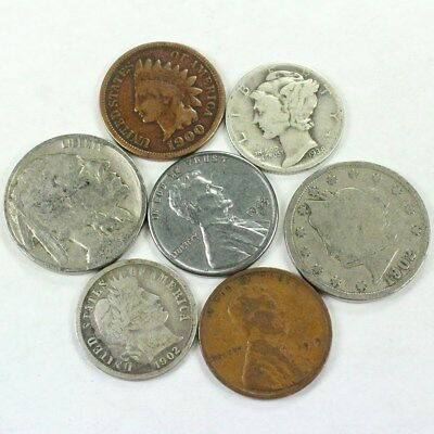 Antique Coin Collection - Includes 90% Silver! Impressive Group