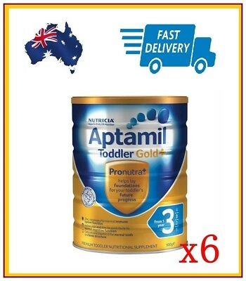 6 x Karicare Aptamil Gold+ Step 3 Baby Formula From 12 Months. Exp 2019 NEW