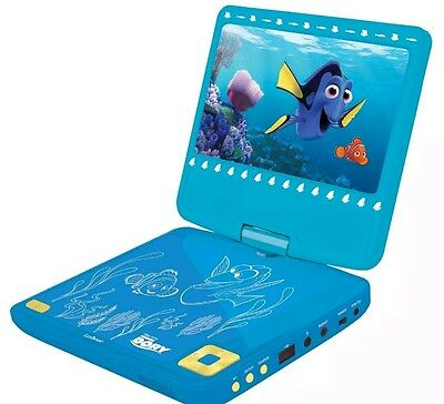 FINDING DORY NEMO PORTABLE DVD PLAYER CHILDRENS NEW lexibook SAME DAY FREE P+P