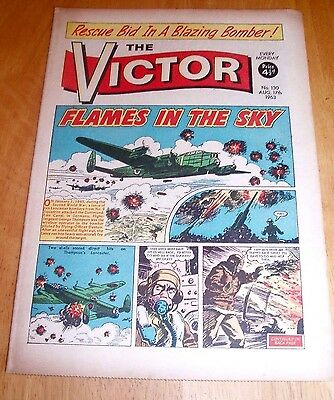 Lancaster Bombers Attack Dortmund Ems Canal  Ww2 Cover Story  Victor 1963