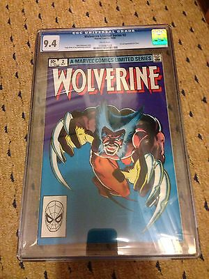 Marvel Comics Wolverine No 2 Limited Edition CGC 9.4 Lovely Condition
