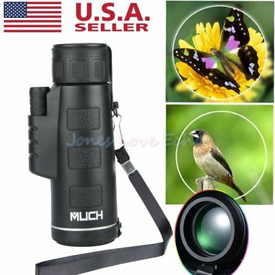 New Day-Night Vision 40x60 HD Optical Monocular Hunting Camping Hiking Telescope