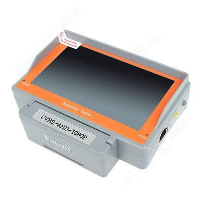 """Wrist 5"""" 800X420 AHD CCTV Camera Test Display Monitor Tester Audio DC 12V Out"""