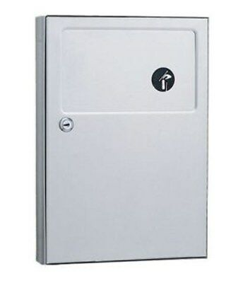 ADA Compliant Version -- Bobrick B-254 Sanitary Napkin Disposal Receptacle
