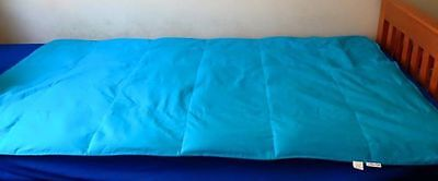 Made to Order Weighted Blanket Large Plain 4-7kg Autism Sensory Calming Sleep
