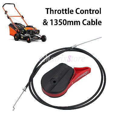 Universal Throttle Control and Cable for Mower, Briggs, Stratton Victa Rover AU