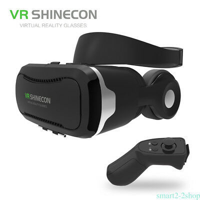 Shinecon VR 4.0 Virtual Reality 3D Movie Game Video Glasses Headset for Android