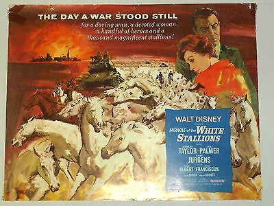 Theatre Lobby Card - Miricle of the White Stallions - FULL SET
