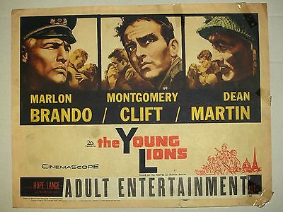 Theatre Lobby Card - The Young Lions