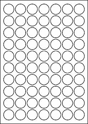 A4 Labels Round - 100 Sheets - Round Labels