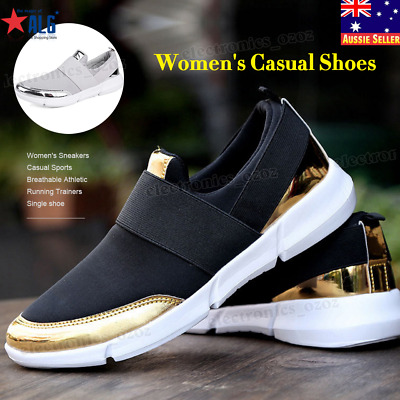 Women's Sneakers Casual Sports Breathable Athletic Running Trainers Single shoe