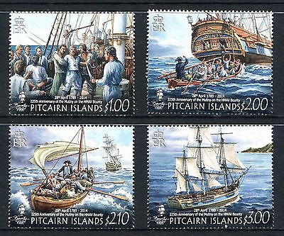 Pitcairn Islands 2014 225th Anniv Mutiny on HMAV Bounty MNH