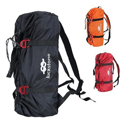 Ultralight Folding Rock Climbing Rope Bag Sling Gear Backpack with Ground Sheet
