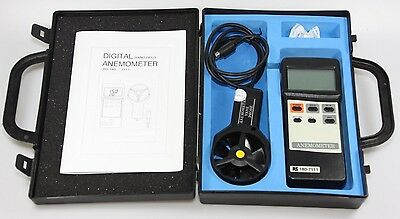 RS 180-7111 Digital Anemometer Windmesser Hand Held
