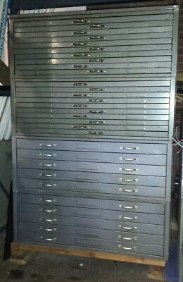 Hamilton Flat File Cabinets, 5 and 10 Drawer available, sold individually
