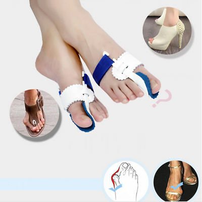 2pcs Big Toe Bunion Splint Straighteners Hallux Valgus Pad Correctors Foot Care